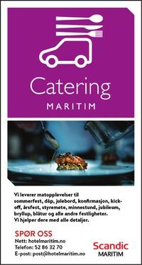 Annonse i Haugesunds Avis - Restauranter