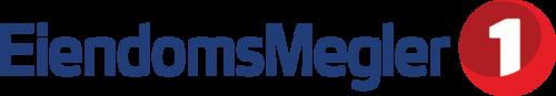 Logoen til Eiendomsmegler 1 Østfold Akershus AS Avd. Halden