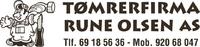 Tømrerfirma Rune Olsen AS