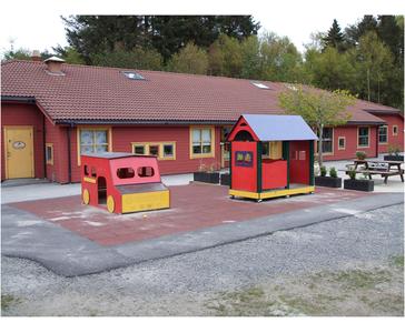 Vi har hatt byggemodning og utenhus anlegg for familiebarnehagen Kattanakk i Haugesund.