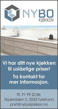 Annonse i Ringerikes Blad - Bygg og fagfolk