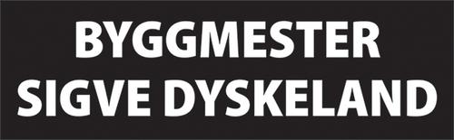 Byggmester Sigve Dyskeland