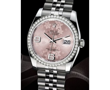 Rolex Datejust 36mm med diamantbezel