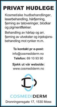 Annonse i Sarpsborg Arbeiderblad - Helse og velvære