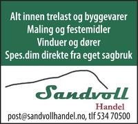Annonse i Kvinnheringen