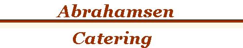 Logoen til Abrahamsen Catering