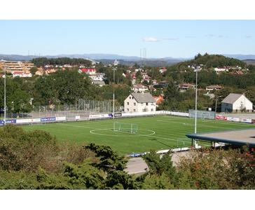Stadionskilter for Karmøyhallen Idrettspark