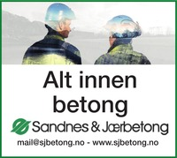 Annonse i Strandbuen