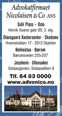 Annonse i Romerikes Blad - Rådgivingsguiden