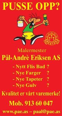 Annonse i Sarpsborg Arbeiderblad - Bygg og fagfolk