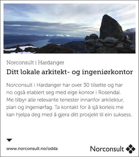 Norconsult AS Hardanger og Voss