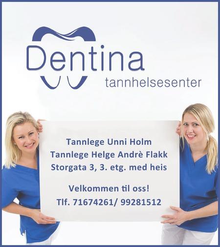 Tannlege Unni Holm Dentina tannhelsesenter