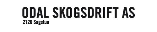 Logoen til Odal Skogsdrift AS