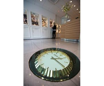 Rolex klokke i gulvet skal du lete lenge for å finne.