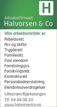 Annonse i Indre Akershus Blad